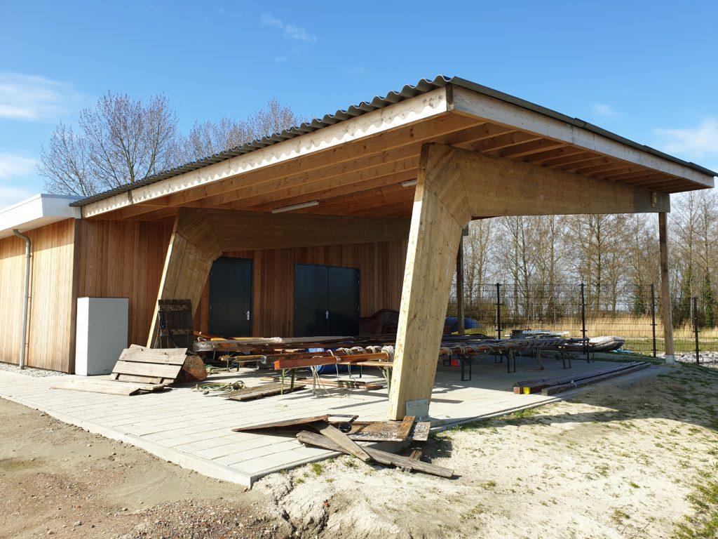 Nieuw scoutinggebouw aan het Goese Diep